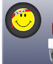 Canada Smiley Tire Cover